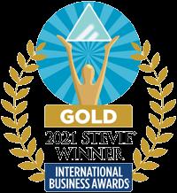 Gold 2021 Stevie Winner International Business Awards